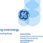 GE Wind Forecasting and Integration