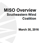 MISO Wind Forecasting and Integration