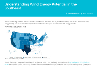 Understanding Wind Energy Potential in the Southeast