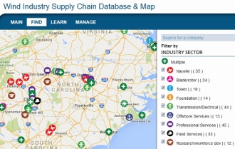 Supply Chain Asset Map
