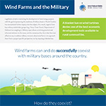 Wind and the Military Fact Sheet